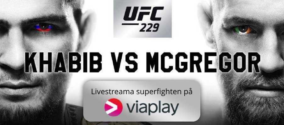 Live Stream Khabib McGregor på Viaplay