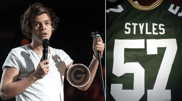 Harry Styles Green Bay Packers