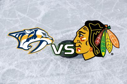 Nashville Predators - Chicago Blackhawks:  Över 6,5