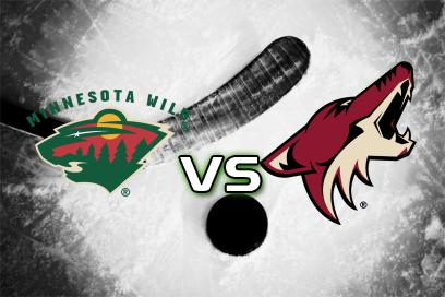 Minnesota Wild - Arizona Coyotes:  2
