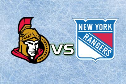Ottawa Senators - New York Rangers:  2