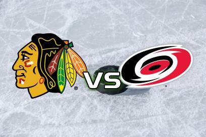 Chicago Blackhawks - Carolina Hurricanes:  Över 6,0