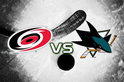 Carolina Hurricanes - San Jose Sharks:  2
