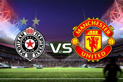 Partizan - Manchester United:  2