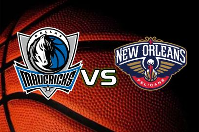 Dallas Mavericks - New Orleans Pelicans:  (AH: -4,5) 1