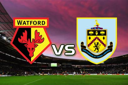 Watford - Burnley:  1