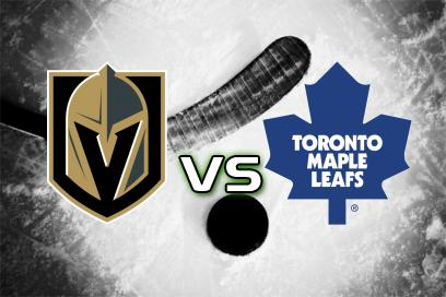 Vegas Golden Knights - Toronto Maple Leafs:  1