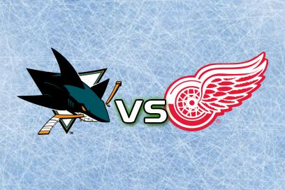 San Jose Sharks - Detroit Red Wings:  1