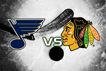St. Louis Blues - Chicago Blackhawks:  1