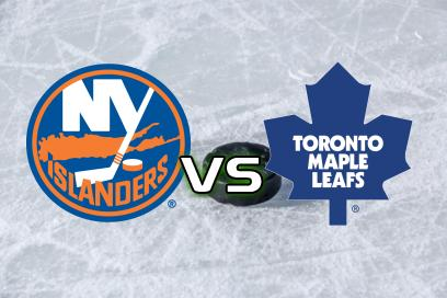 New York Islanders - Toronto Maple Leafs:  1