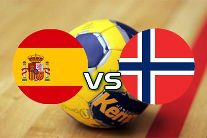 Spanien - Norge:  x