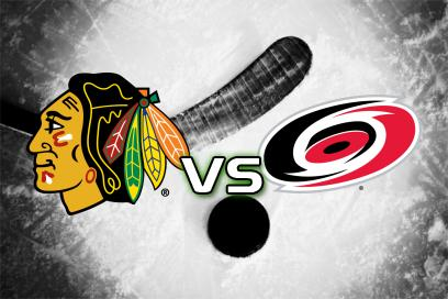 Chicago Blackhawks - Carolina Hurricanes:  1
