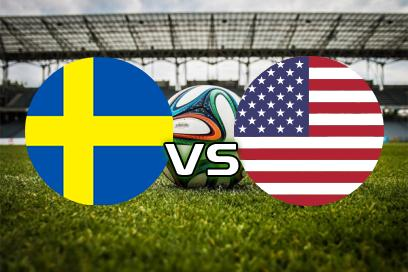 Sverige - USA:  Double chance: 1x
