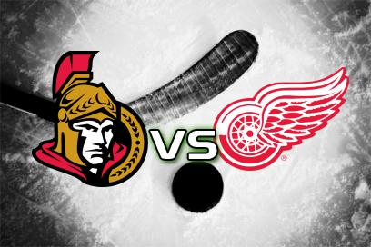 Ottawa Senators - Detroit Red Wings:  Över 7,5 Mål