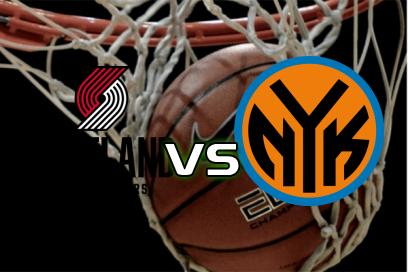 Portland Trail Blazers - New York Knicks:  (AH: -4,5) 1