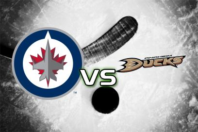 Winnipeg Jets - Anaheim Ducks:  1