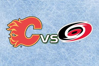 Calgary Flames - Carolina Hurricanes:  2