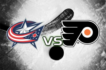 Columbus Blue Jackets - Philadelphia Flyers:  2