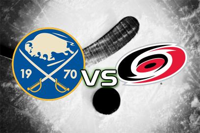 Buffalo Sabres - Carolina Hurricanes:  2