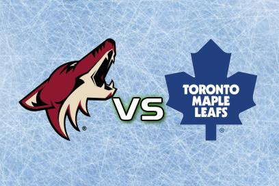 Arizona Coyotes - Toronto Maple Leafs:  Under 6,5